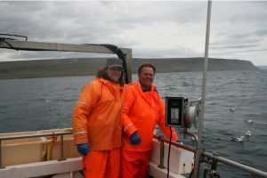 Feðgarnir Gísli og Baldur